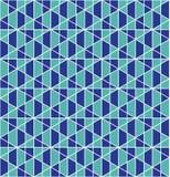 Sömlös modelldesign för geometriskt raster royaltyfria foton