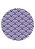 Sömlös modelltextur för japansk våg fotografering för bildbyråer