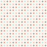 Sömlös modern geometrisk polkarombmodell Arkivfoto