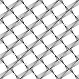 Sömlös monokrom geometrisk modell för design Arkivbilder