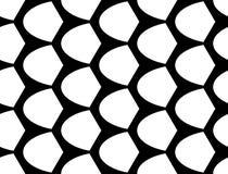 Sömlös monokrom geometrisk modell för design Royaltyfri Foto