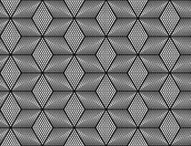 Sömlös monokrom rastermodell för design Royaltyfria Bilder