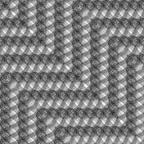 Sömlös monokrom spets- modell för design Royaltyfri Fotografi