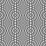 Sömlös monokrom strimmig modell för design Arkivfoto