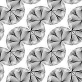 Sömlös monokrom vinkande modell för design Arkivbild