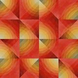 Sömlös ojämn geometrisk modell för raster Royaltyfri Fotografi
