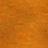 Sömlös orange folie och Tileable bakgrundstextur Fotografering för Bildbyråer