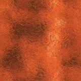 Sömlös orange folie och Tileable bakgrundstextur Royaltyfria Bilder