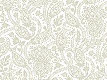 Sömlös paisley bakgrund royaltyfri illustrationer