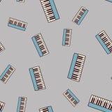 Sömlös pianomodell Royaltyfri Fotografi