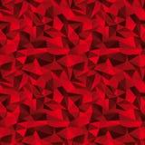 Sömlös röd vektorbakgrund Royaltyfri Bild
