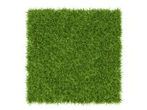 Sömlös repeatable tolkning för modell 3d av en gräslapp för ar Arkivbilder