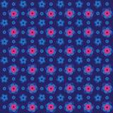 Sömlös rosa färgglad präglad bakgrundsmodell för blomma 3d Royaltyfri Fotografi