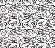 Sömlös rosblommabakgrund för bröllopkort stock illustrationer