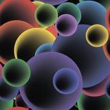 Sömlös rundabubblamodell. vektor Fotografering för Bildbyråer