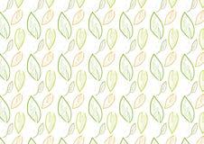 Sömlös sidabakgrund i tema för grön färg Royaltyfri Fotografi