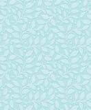 Sömlös sidatapet för turkos stock illustrationer