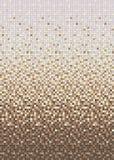 Sömlös slät övergång av färgmosaiken från beiga till brunt. Arkivbild
