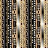 Sömlös stam- modell för afrikanskt ethnoabstrakt begrepp Royaltyfria Foton