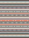Sömlös stam- modell för vektor Arkivbilder