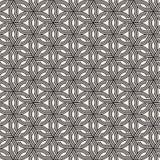 Sömlös subtil gallermodell för vektor Modern stilfull textur med monokrom spaljé Upprepa geometriskt raster fotografering för bildbyråer