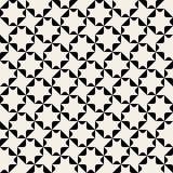 Sömlös svart för vektor och geometrisk modell Arkivbilder