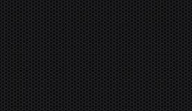 Sömlös svart honungskakabakgrund Royaltyfria Bilder