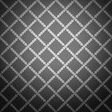 Sömlös svart stilfull bakgrund. Vektor Arkivbilder