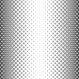 Sömlös svartvit fyrkantig modell stock illustrationer