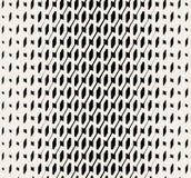 Sömlös svartvit rastrerad Diadonal för vektor modell Royaltyfri Bild