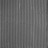 Sömlös svartvit wellpapptextur Arkivbild