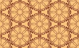 Sömlös symmetrisk modell för vektor Royaltyfri Fotografi