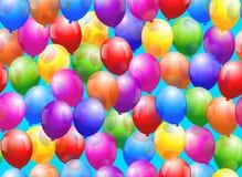 Sömlös tapet för ballong Royaltyfria Foton
