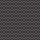 Sömlös tappning Art Deco som gripa in i varandra bakgrund för kontrollvävmodell vektor illustrationer