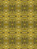 Sömlös tegelplatta för guld- Glittter filigran Royaltyfri Fotografi