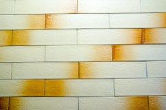 Sömlös tegelstenvägg Royaltyfria Bilder