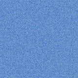 Sömlös textur av den diagonala fållen för blå grov bomullstvill Arkivfoto