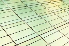 Sömlös textur av en solpanelcloseup Inverterat färgfoto Arkivfoto