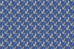 Sömlös textur av grus, kulört för bakgrund för stenvägg mång- med röda lilor för violet för gräsplangulingblått royaltyfri illustrationer