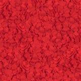 Sömlös textur av röda blommakronblad arkivbild