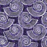 Sömlös textur för Batik Arkivbild