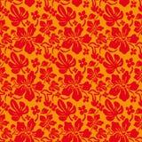 Sömlös textur för blomma Arkivbilder