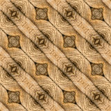 Sömlös textur för dörrmatta Royaltyfri Foto