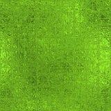 Sömlös textur för grön folie Arkivbilder