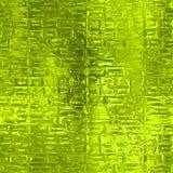 Sömlös textur för grön folie Royaltyfria Bilder
