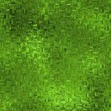 Sömlös textur för grön folie Arkivbild