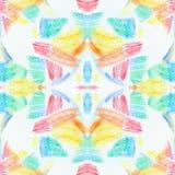 Sömlös textur för Grunge av pastellfärgade slaglängder Sömlös abstrakt grungebakgrund för färgpennor vektor för bild för designel Royaltyfria Foton