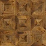 Sömlös textur för Grungeparkettdesign för inre 3d Royaltyfria Foton