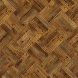 Sömlös textur för Grungeparkettdesign för inre 3d Royaltyfri Bild