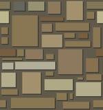 Sömlös textur för källaresten Arkivfoton
